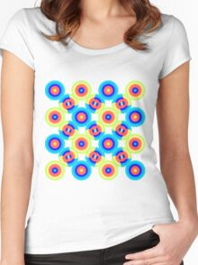 Geo 65 Women's Fitted Scoop T-Shirt