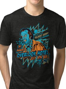 1st Annual Overlook Hotel July 4th Ball (alternate colors) Tri-blend T-Shirt