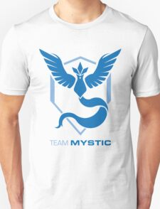 Team Mystic Logo with Text Unisex T-Shirt