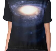 Blue spiral galaxy. Chiffon Top