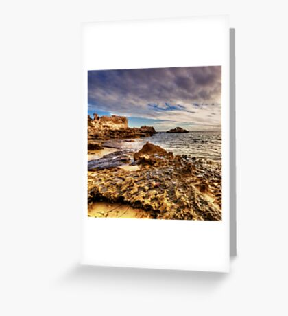 Beach Sunset Western Australia Greeting Card