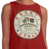 Ducati vintage Motorcycles Italy Contrast Tank
