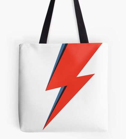 David Bowie - Ziggy Stardust - Thunder theme Tote Bag