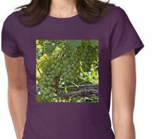 Wine Grapes Womens Fitted T-Shirt