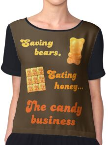 The Candy Business Chiffon Top