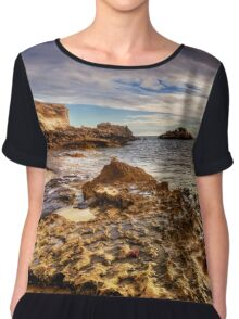 Beach Sunset Western Australia Chiffon Top