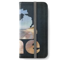 Michigan Home in Dark Blue iPhone Wallet/Case/Skin