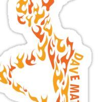 DAVE MATTHEWS BAND LOGO art Sticker