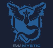 Team Mystic Splash with Text One Piece - Short Sleeve
