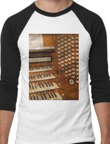 Organist - Ready at the controls Men's Baseball ¾ T-Shirt