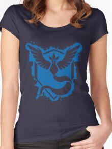 Team Mystic Splash Women's Fitted Scoop T-Shirt