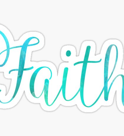 Faith Sticker