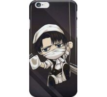 Chibi Levi Cleaning day iPhone Case/Skin