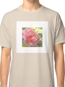 Flower on White Classic T-Shirt
