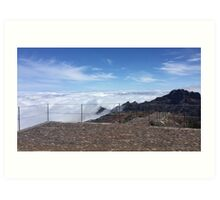 Madeira highest point Art Print