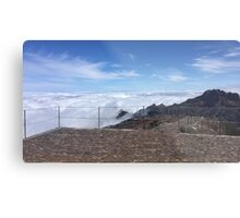 Madeira highest point Metal Print