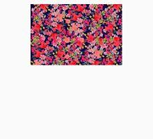 navy floral print Unisex T-Shirt