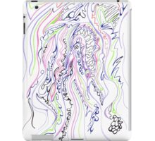 0113 - Soft Lines with tough Patterns iPad Case/Skin