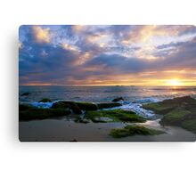 Burns Beach sunset  Metal Print