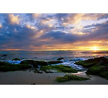 Burns Beach sunset  Photographic Print