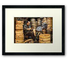 The Sieve Maker  Framed Print