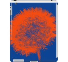 Dandelion Pop in Orange iPad Case/Skin