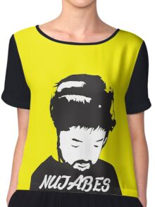 NUJABES Chiffon Top