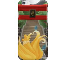 Ninetails under the Moonlight iPhone Case/Skin