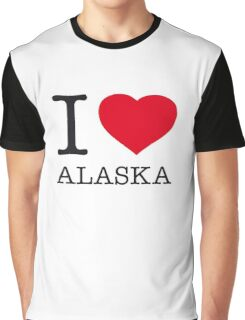 I ♥ ALASKA Graphic T-Shirt