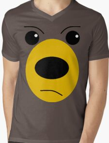 Bear pillow  Mens V-Neck T-Shirt