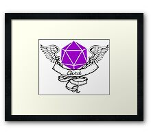 Cleric Dungeons and Dragons  Framed Print