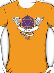 Cleric Dungeons and Dragons  T-Shirt
