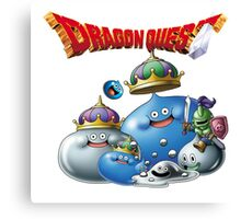 Dragon Quest - slime Canvas Print