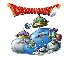 Dragon Quest - slime Photographic Print