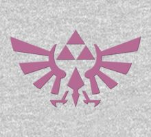Triforce Pink by ExplodingZombie