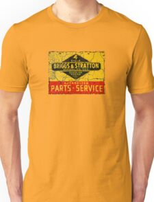 Briggs and Stratton vintage small engines. Unisex T-Shirt