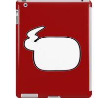 Speechless: Comic talk, Say what you want to say iPad Case/Skin