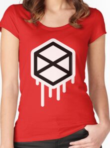 Titan pride Women's Fitted Scoop T-Shirt