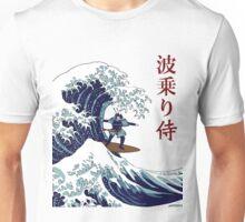 Surfing Samurai Unisex T-Shirt