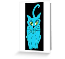 Smarty Cat has arrived Greeting Card