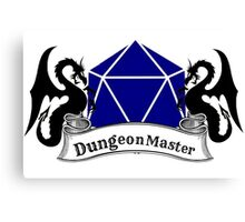 Dungeon Master Dungeons and Dragons Canvas Print
