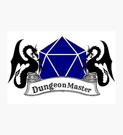 Dungeon Master Dungeons and Dragons Photographic Print