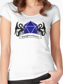 Dungeon Master Dungeons and Dragons Women's Fitted Scoop T-Shirt