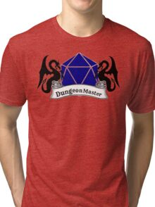 Dungeon Master Dungeons and Dragons Tri-blend T-Shirt