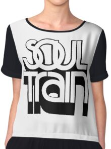 SOUL TRAIN  Chiffon Top
