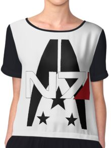 Mass Effect Alliance and N7 Chiffon Top