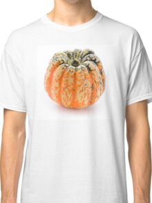 Single decorative pumpkin, isolated on white background Classic T-Shirt