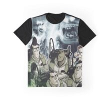 GHOSTBUSTERS (MOVIE VS COMIC) Graphic T-Shirt