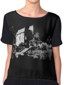 Welcome to Bates Motel Chiffon Top