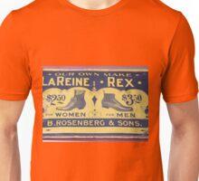 Antique shoe sign Unisex T-Shirt
